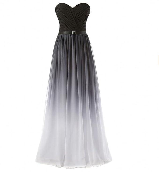 Charmant Damen Anmutig Chiffon Geraft Herzausschnitt Abendkleider  Partykleider Brautjungfernkleider Empire Rock: Amazon.de: Bekleidung