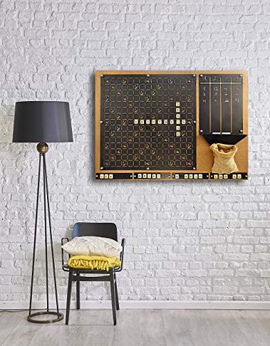 Tubibu Unique Wall Decor, Message Board, Convenient to Play Game, Extraordinary Gift, Wall Decor, Wall Art ()