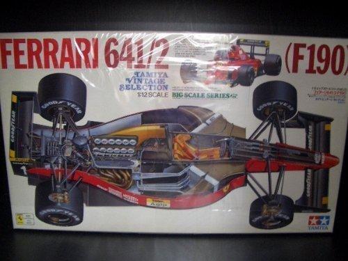1/12 ビッグスケールシリーズ フェラーリ641/2(F190) タミヤビンテージセレクション B00GTHAYWM