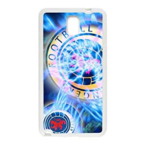 Shiny blue football club Cell Phone Case for Samsung Galaxy Note3