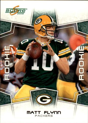 2008 Score Football (2008 Score Football Rookie Card #422 Matt Flynn Near Mint/Mint)
