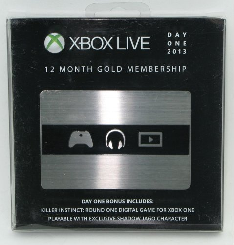 Xbox Live Day Month Gold Membership