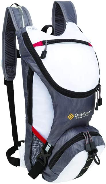Outdoor Products Ripcord Hydration Pack with 2-Liter Reservoir, 3.6-Liter Storage