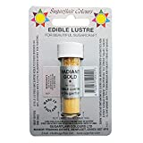 50 x Sugarflair Edible Radiant Gold Lustre Dust Powder Cake Icing Food Colour