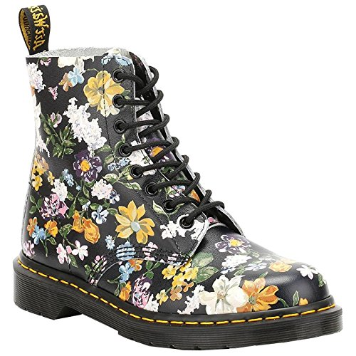 Dr Martens Mujer Negro Darcy Floral Backhand Pascal Botas Black