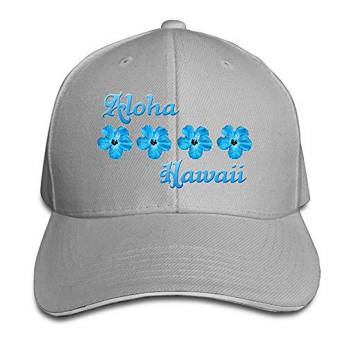 VHGJKGIN Aloha Hawaii Sandwich Cap Baseball Hat Cap