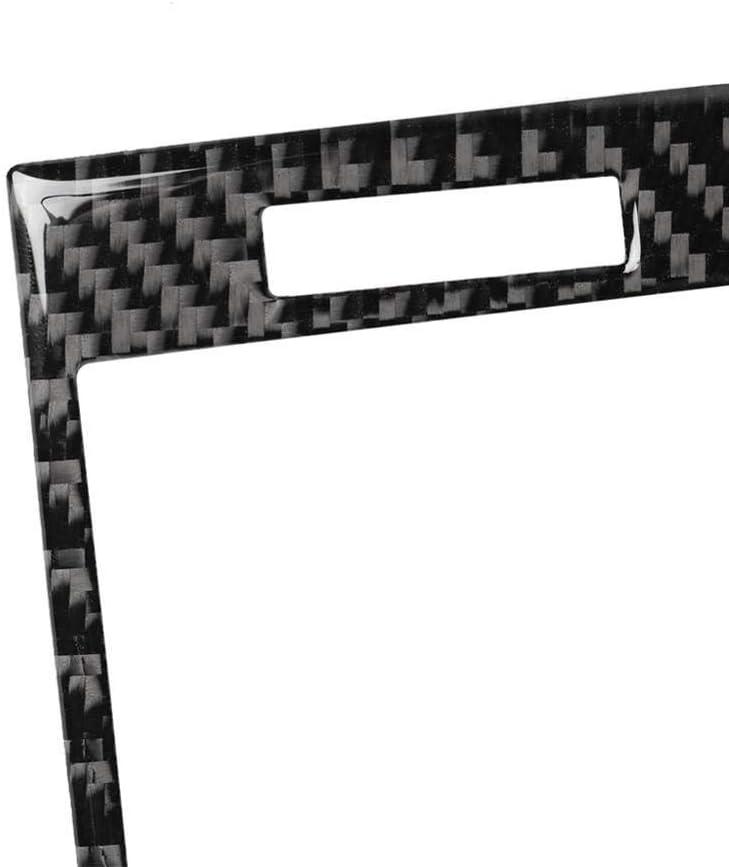 Wcnsxs Carbon Fiber Dashboard Air Vent Panel Aufkleber Zierleiste f/ür BMW 3er E46 1998-05 Autozubeh/ör Dashboard Air Vent Panel Aufkleber