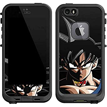 newest d43d1 4bbec Amazon.com: Dragon Ball Z LifeProof fre iPhone 6/6s Skin - Goku ...