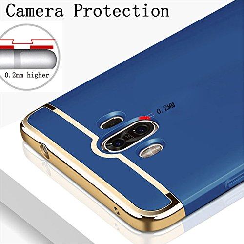 10 Azul Chapa Plata 10 protectora protectora dura Mate Funda la rasgu Huawei Ultra Cubierta Delgada para de Ligera 10 Fina Pro Anti o carcasa Carcasa mate Funda mate 8Agwqgp