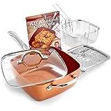 Copper Chef KC15053-04000 Cookware set 5 5 Pieces Copper
