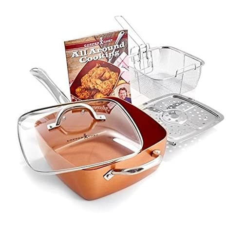 Copper Chef 4 pc system, 6 in 1 pan Tristar Products KC15053-04000