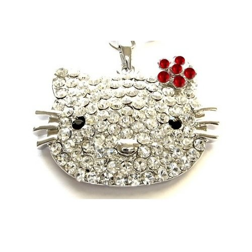 Red L (Hello Kitty Necklace Cheap)