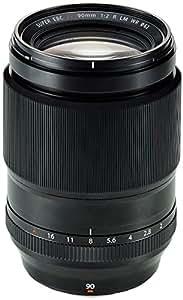 Fujifilm FUJINON Lens XF90mmF2 R LM WR - Objetivo para cámara, color negro