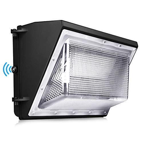 120W LED Wall Pack Light - Dusk To Dawn With Photocell 5000K Outdoor Commercial And Industrial Lighting ETL DLC Listed 10-year Warranty