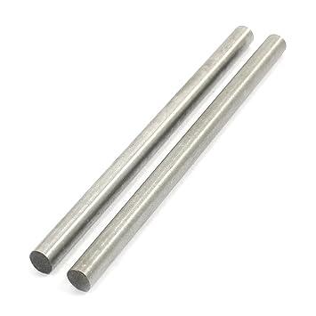 Edelstahl Rundstab VA V2A 1.4301 blank h9 /Ø 18 mm L: 25mm Zuschnitt 2,5cm