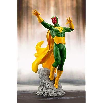 Marvel Universe: Avengers Series: Vision Artfx+ Statue: Toys & Games
