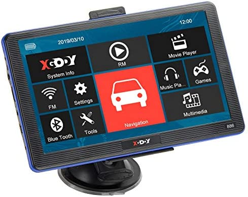 "XGODY 886 7/"" Vehicle GPS Navigation Unit 256MB 8GB Capacitive Touchscreen 3D Map"