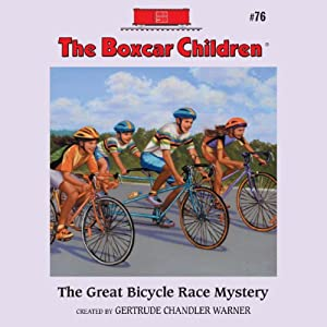 The Great Bicycle Race Mystery Audiobook