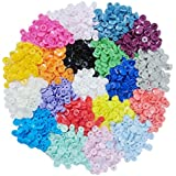 KAM Snap Kits 300 Complete Sets KAM T5 Size 20 Plastic Snap Fastener Buttons