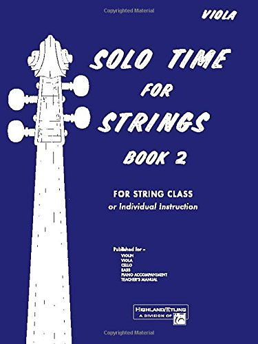 Solo Time for Strings, Book 2 (Viola)