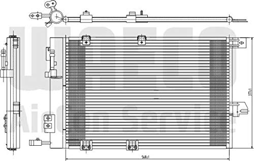 Klimaanlage WAECO 8880400157 Kondensator