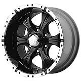 "Helo Maxx Wheel with Gloss Black Machined (15x8""/5x4.5"")"