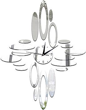 Forepin Reg Diy Pendule Murale Horloge Muraux Autocollants