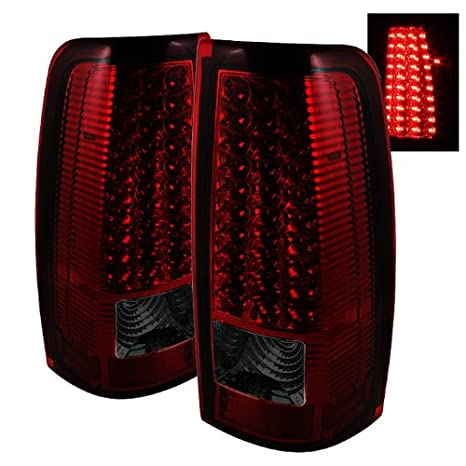 Spyder Auto ALT-ON-CS99-LED-SM Chevy Silverado 1500//2500//3500 and GMC Sierra 1500//2500//3500 Smoke LED Tail Light