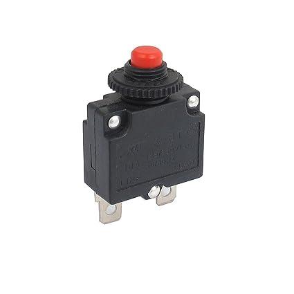 SOURCING MAP Compresor de aire AC 125/250V 10 A Breaker de botn interruptor