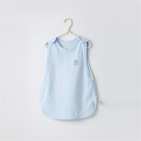 Bolsa de dormir para bebés Sin mangas Verano Sección delgada Recién nacidos Algodón Soft Breathable Saco