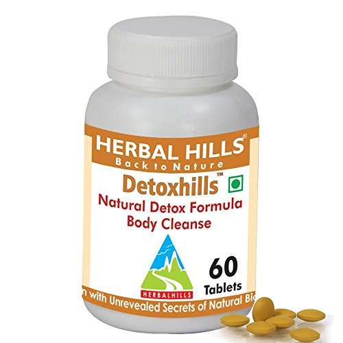 550 Mg 60 Tabs - DetoxHills Tablets,60 V tabs,550 mg each-for Detox,digestion and cidity by Herbal Hills