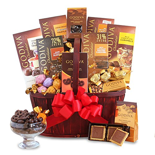 California Delicious Godiva Connoisseur Gift Basket
