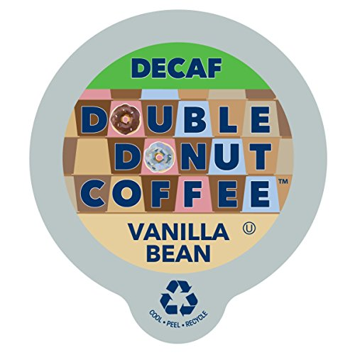Double Donut Coffee Decaf Vanilla Bean Flavored Coffee