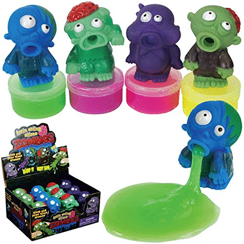 Zombie Slime Brain Eating Slime Zombies, (pack of 4) by PMT Holdings Ltd