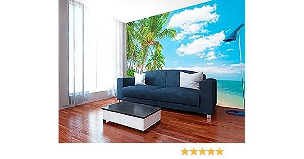 Fotomural Vinilo Pared Playa Varias Medidas 350x250cm | Decoración de comedores, Salones | Motivos Paisajísticos | Urbes, Naturaleza, Arte | ...
