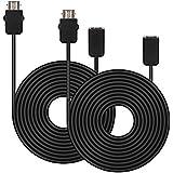 SNES Mini / NES Classic Extension Cables - TwitFish 1.8m / 6ft cavo di prolunga per Nintendo NES Classic Mini Controller (2* cavo di prolunga per Nintendo NES Classic Mini)