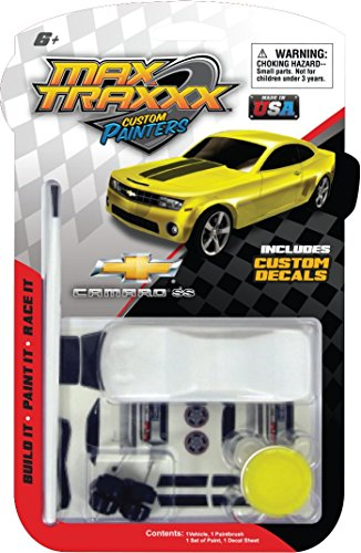 Max Traxxx Custom Painters Chevy Camaro SS Mini Model Kit by Max Traxxx