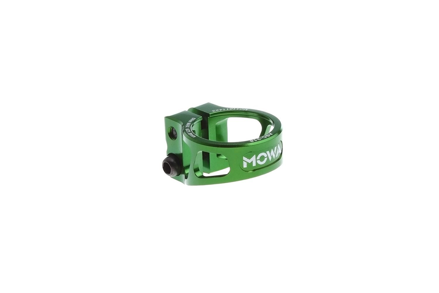 MOWA ASC Road Cyclocross CX Mountain Bicycle MTB Bike Cycling Alloy Seatpost Clamp 31.8 and 34.9 (Green, 31.8mm) by MOWA