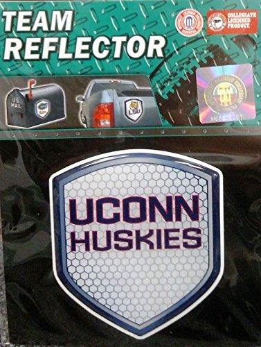 UCONN Connecticut Huskies NEW Logo Shield Reflector Emblem Auto Home University - Shield Husky