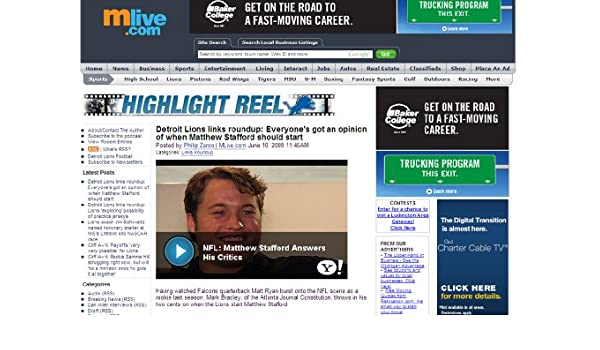 Amazon com: Highlight Reel (Detroit Lions): Philip Zaroo