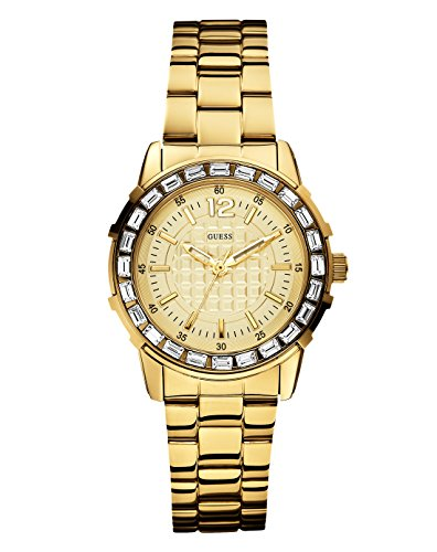 Guess W0018L2 Ladies GIRLY B Gold Tone Watch