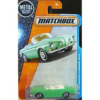 Matchbox 2016 MBX Adventure City Volkswagen Karmann Ghia 29/125, Light Green
