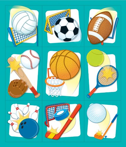 Sports Prize Pack Stickers