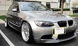 Xotic Tech 1 Set Front Tow Hook License Plate Bumper Mounting Bracket Fit BMW F30 F32 F33 F36 F10 F11 E84 F25 i3 3 4 5 Series X1 X3 Mini Cooper R60 R61 E55 E56
