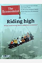 The Economist 13 - 19 July 2019 Issue Riding High Special Magazine Paperback
