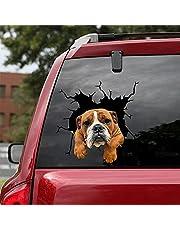 JZLMF Tear-Engels Bulldog, Body Sticker, Window Sticker, Reflecterend