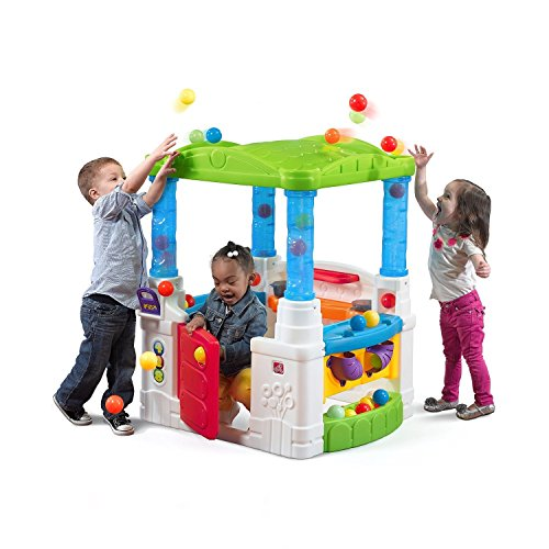 Most Fun Highly Rated Best Selling Kids Toddlers Complete Active Fun Zone House Activity Learning Center With Balls Bright Colors Working Door Roomy Interior Indoor Outdoor Full Scale Playhouse Joy