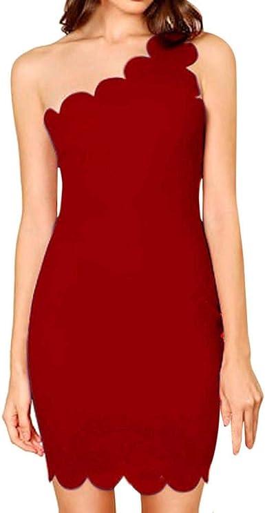 VJGOAL Mujer Verano Moda Casual Color sólido Elegante Cuello ...