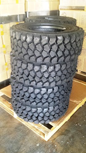 Heavy Duty Set of Four (4) 12-16.5 Skid Steer Loader Tire, 14 PLY, NHS