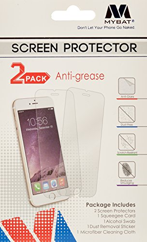 Mybat Screen - MyBat Screen Protector for LG LS770 (G Stylo) LG H740 (G Vista 2) - Retail Packaging - Clear